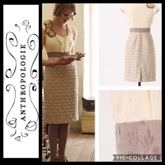 Anthropologie Dresses & Skirts - Anthropologie Floreat Dress Jacquard
